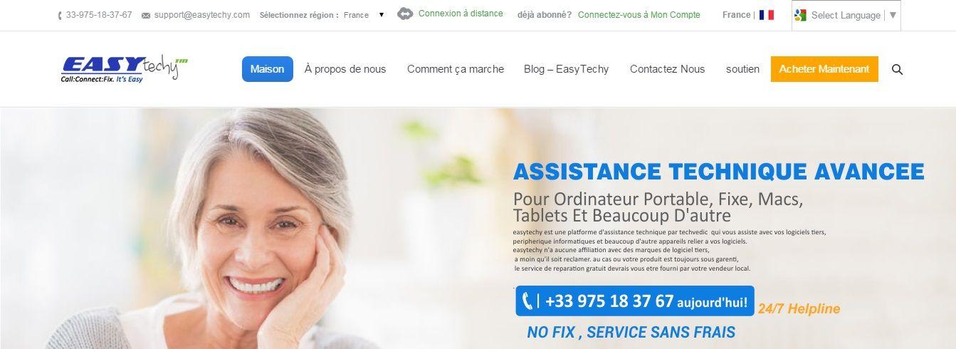 EasyTechy Peut vous aider avec tout  Cal à + 33-975-18-37-67 - logiciel d gratuit maison