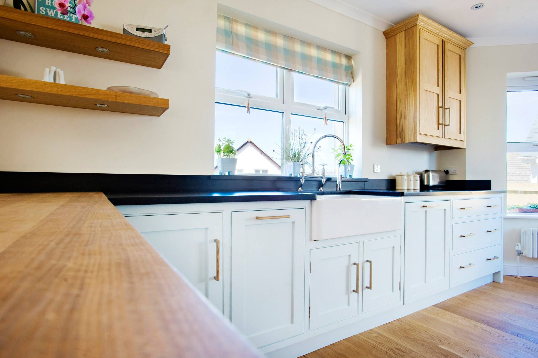 Image result for wood and granite worktops Granite