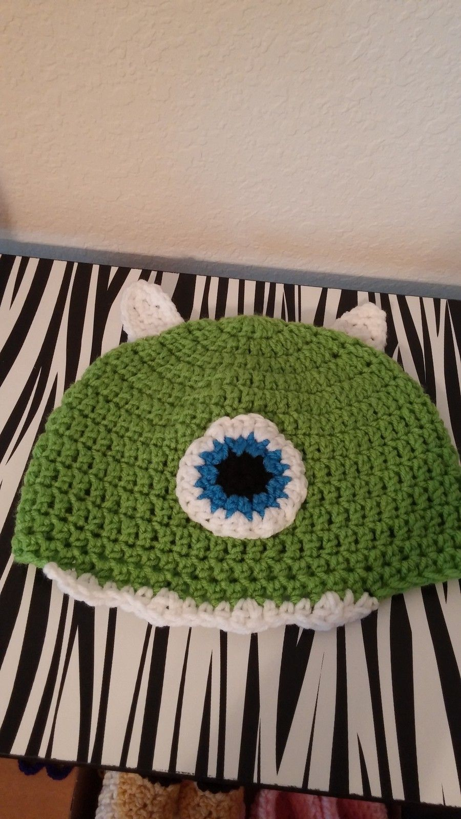 Mike mazawski crochet kids hat crochet for kids pinterest