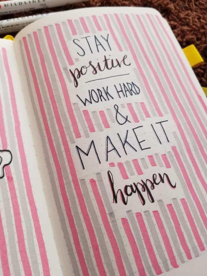 ▷ 1001 + Bullet Journal Ideen und schöne DIY Designs zum Inspirieren