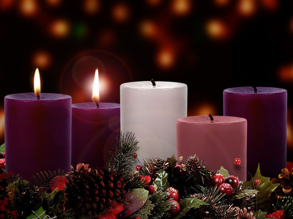 The Chellsen Clan: Advent–Week 2 | Advent candles, Advent wreath, Pink  candles