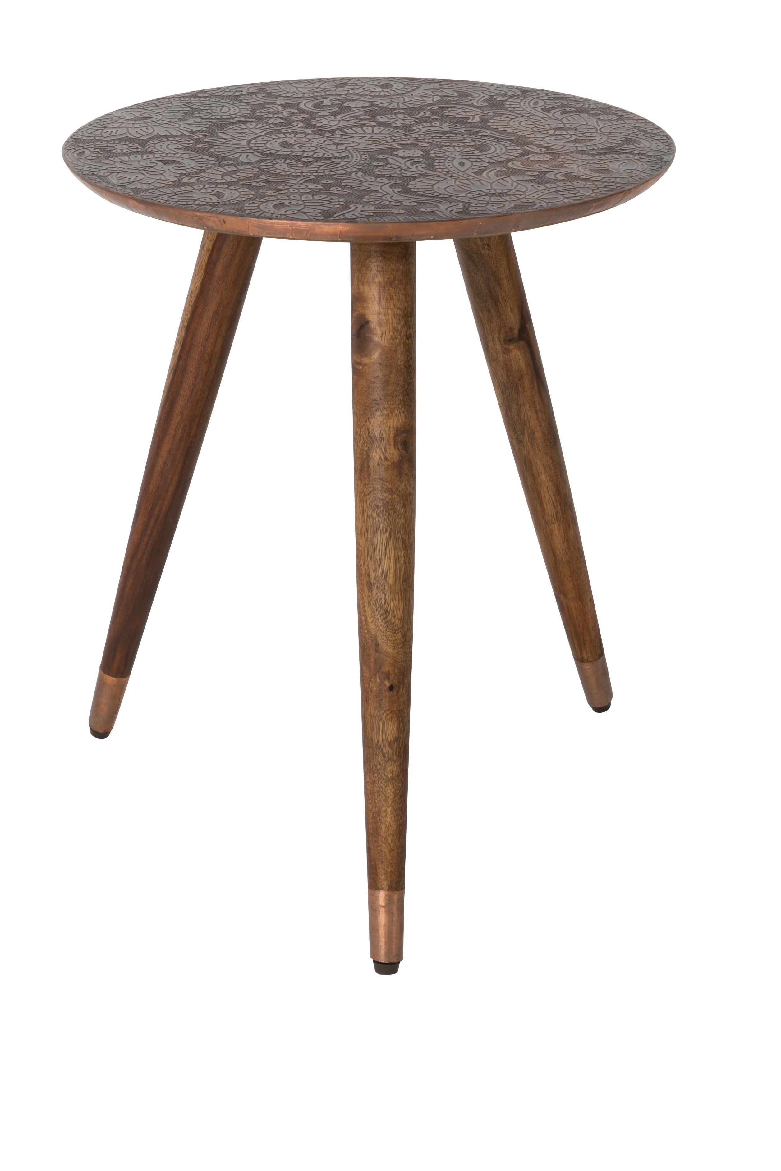 Bast Side Table Copper Sidetable Tabled Appoint Beistelltisch Bijzettafel Bijzettafel Bijzettafels Messing