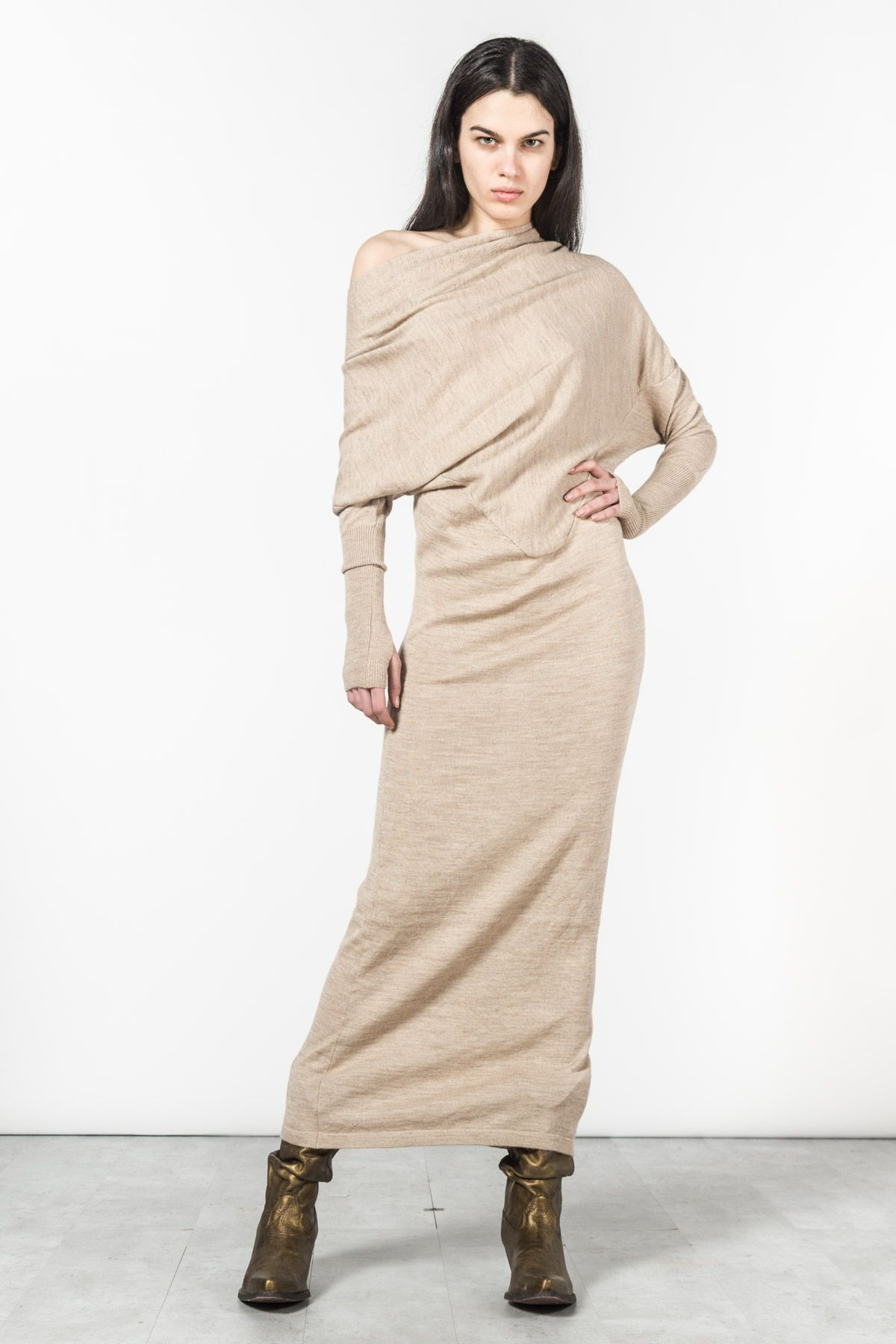 3fff352f13 LONG SWEATER DRESS   NICHOLAS K Stylish Clothes For Women