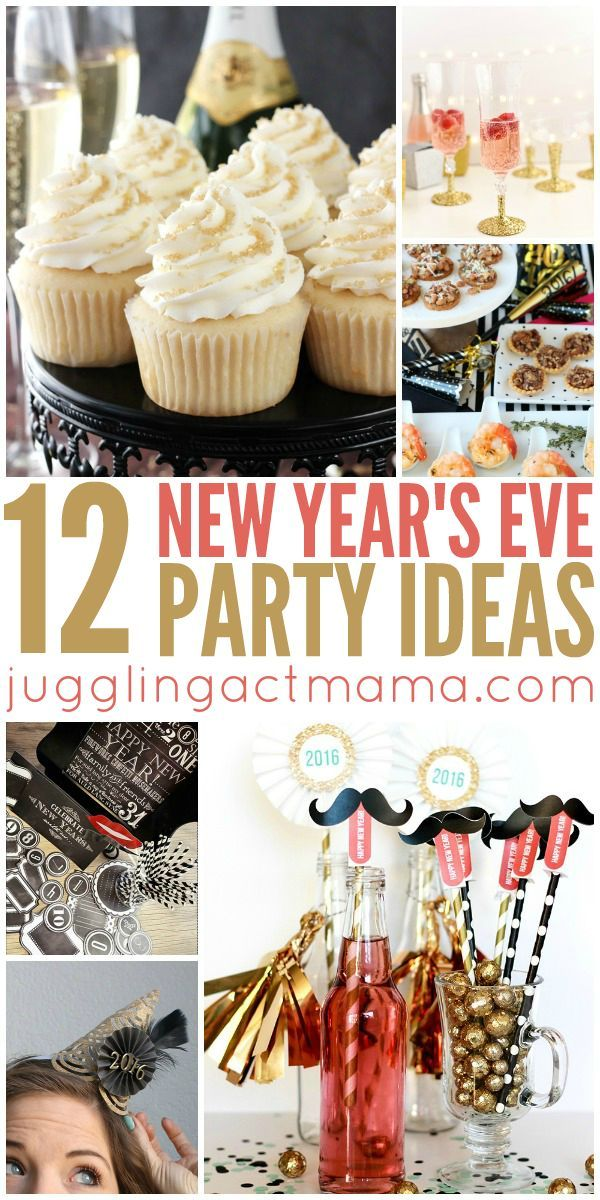 12 New Year's Eve Party Ideas - Juggling Act Mama