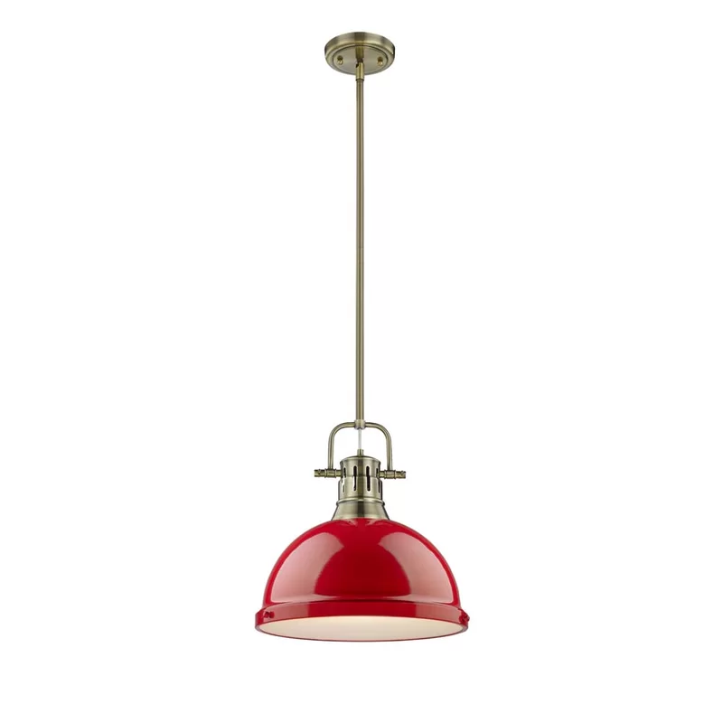 Bodalla 1 Light Single Dome Pendant With Images