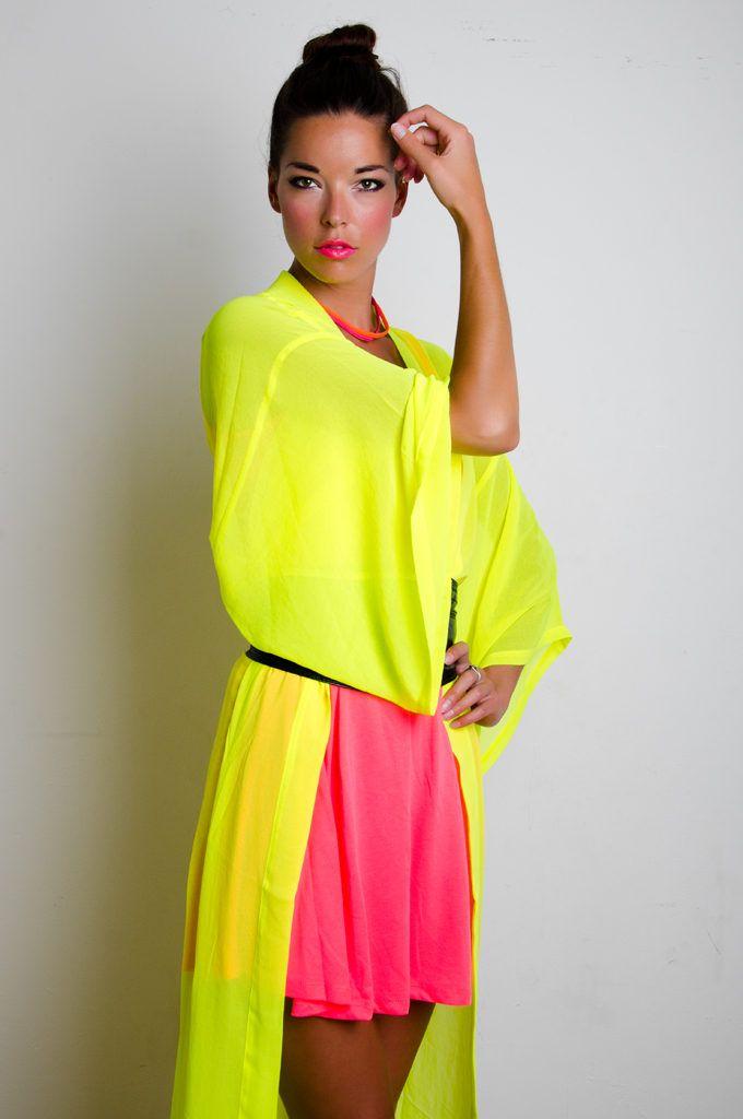 Bright Neon Color Dresses