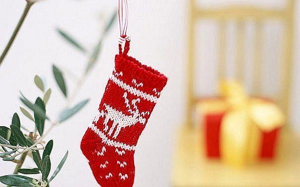 новогодний носок - Поиск в Google