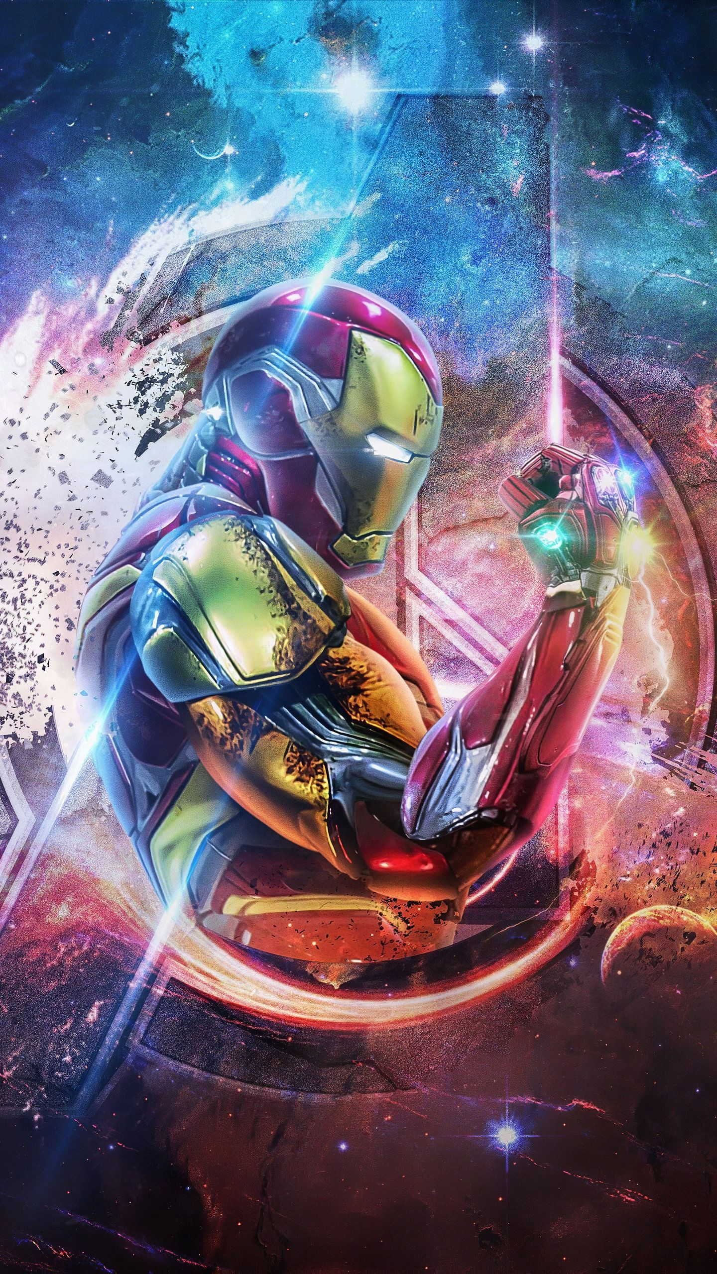 Iron Man 4k Avengers Endgame Hd Wallpaper In 2020 Iron Man Art Superhero Wallpaper Marvel Wallpaper
