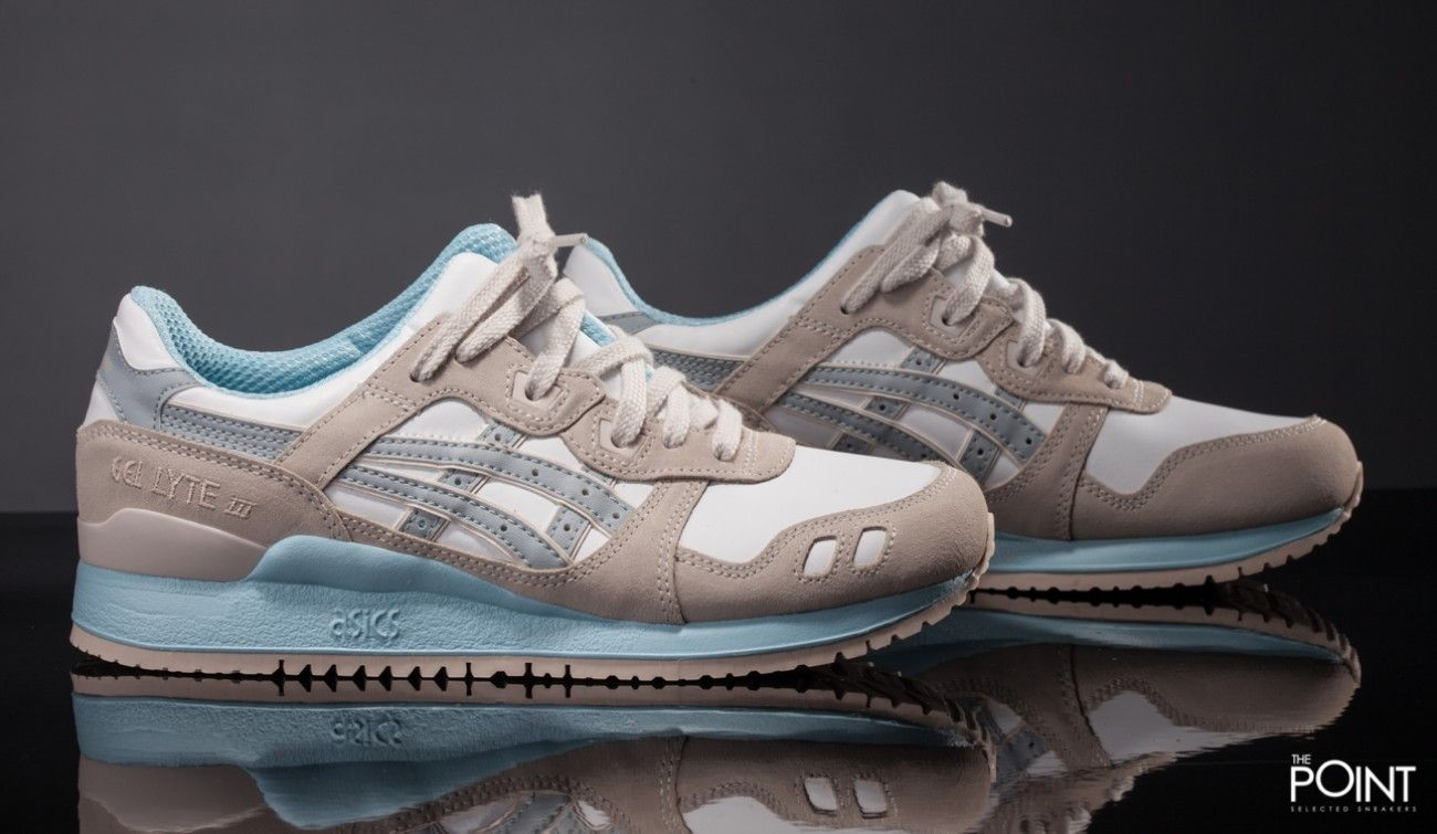 asics beige mujer