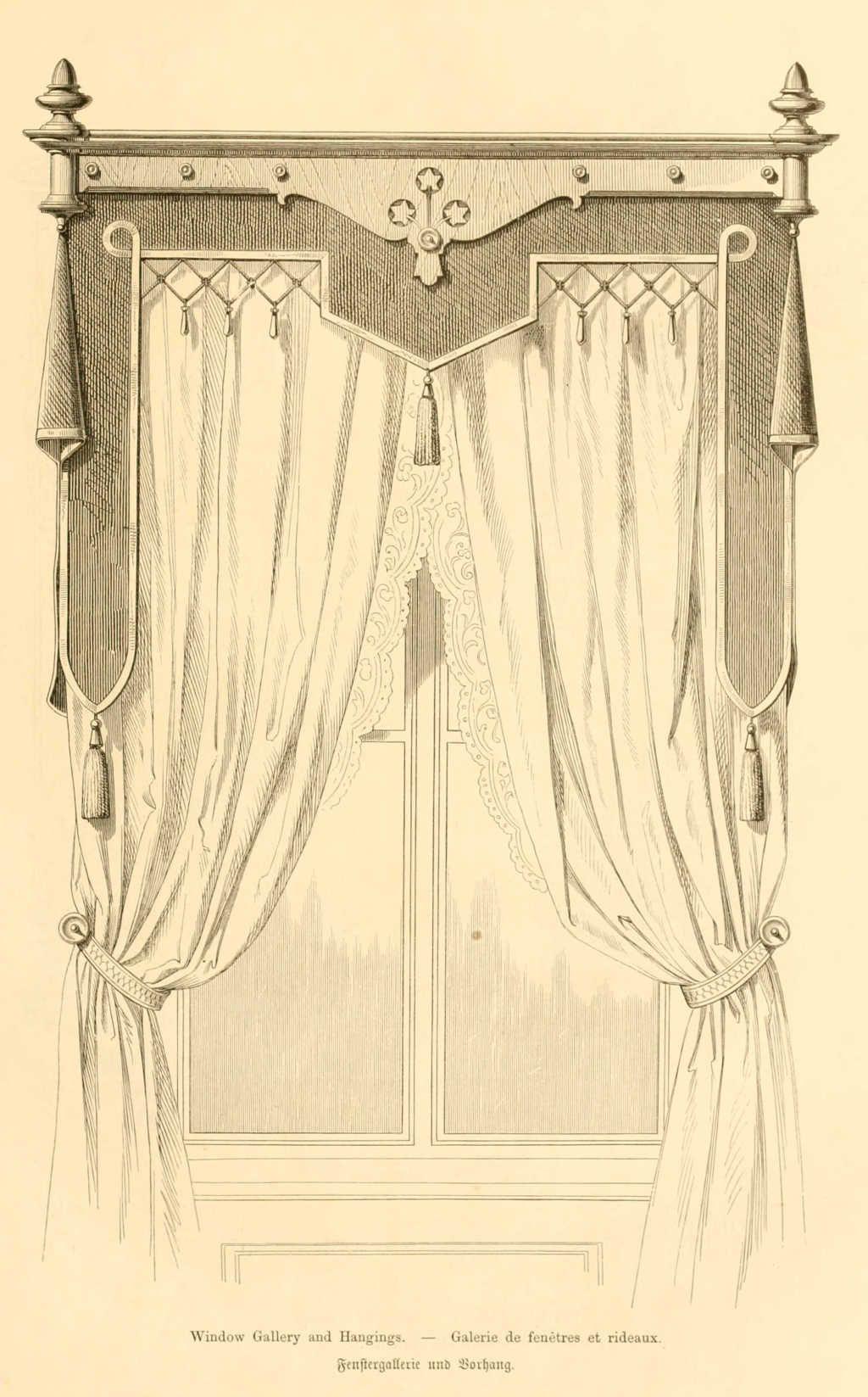 Img dessins meubles mobilier galerie de fenetre et rideaux for Rideaux fenetre 3 vantaux
