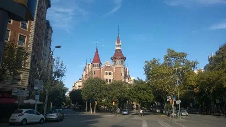 Casa de les punxes. Barcelona.