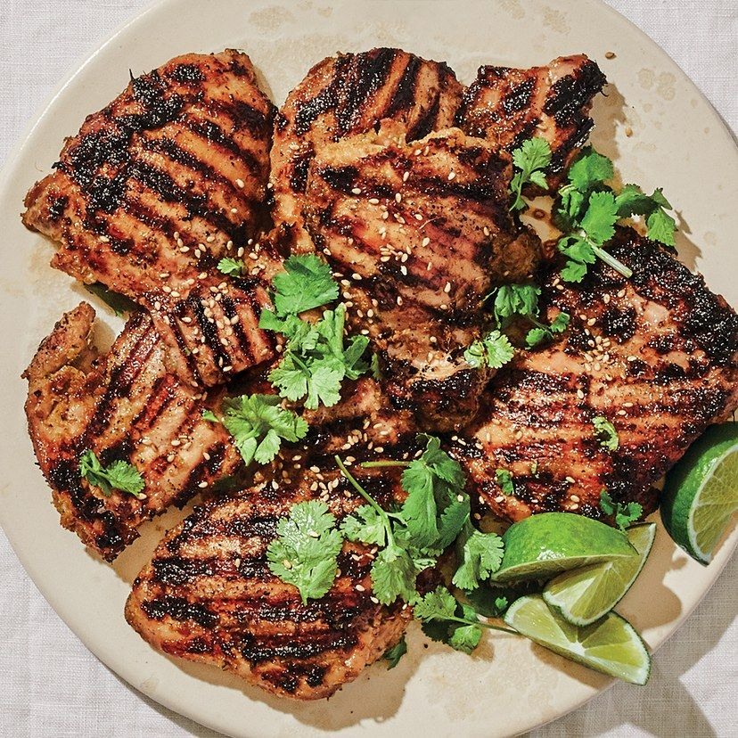Simple Marinated Chicken Thighs