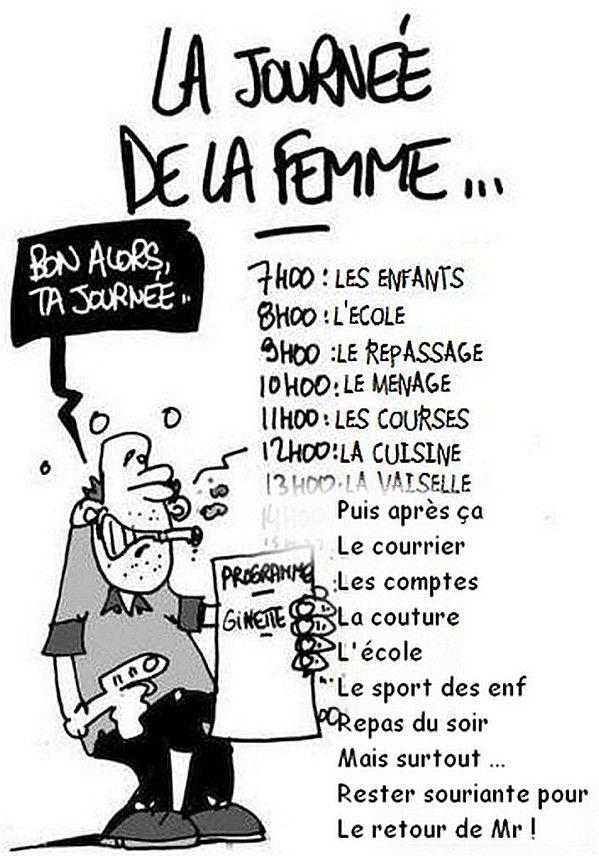 Hervorragend programme-journee-de-la-femme | French Humour | Pinterest  BW82