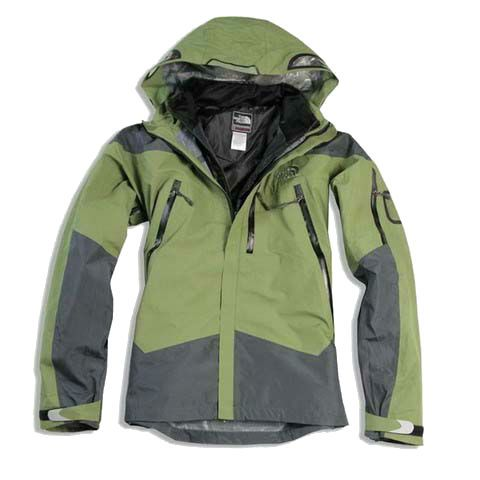 Mens North In Dark Green Sea Face 3 Triclimate 1 Jacket DHeWEI29Yb