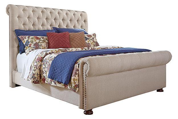Beds Bed Frames Ashley Furniture Homestore Upholstered