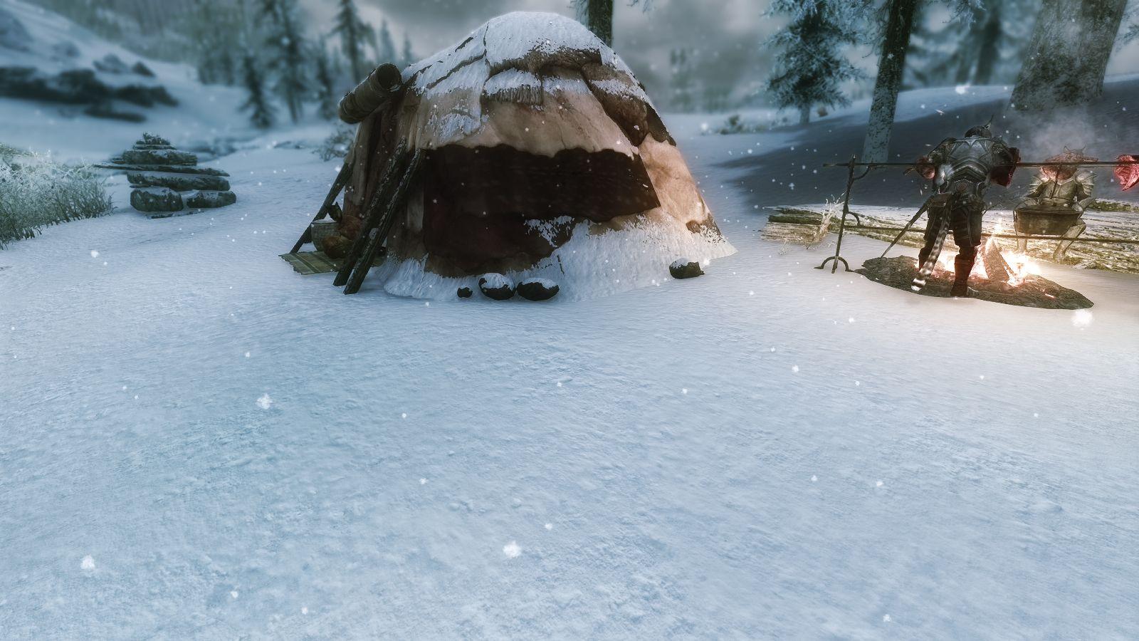 Quality Snow HD 4K at Skyrim Nexus - mods and community | SALAR