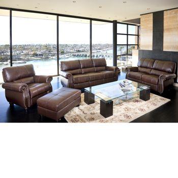 Costco Lorenzo 4 piece Leather Set House Ideas Pinterest