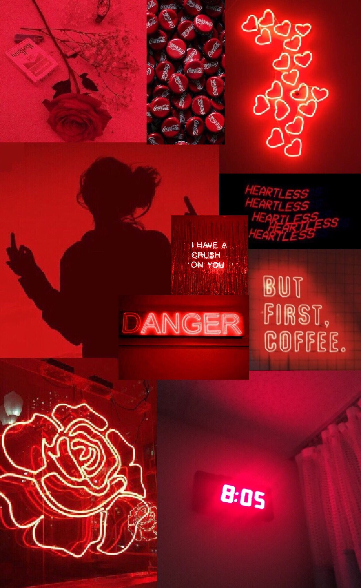 Freetoedit Tumblr Aesthetic Red Rojo Roses Rosas Collage Hearts Remixit Red And Black Wallpaper Dark Red Wallpaper Iphone Wallpaper Tumblr Aesthetic