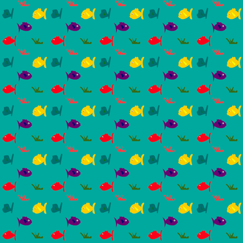Free digital and printable fish pattern scrapbooking for Fish wrapping paper