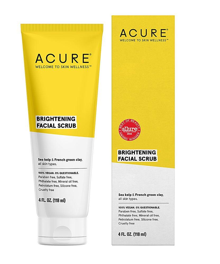 Acure Brightening Facial Scrub -- 4 Fl Oz