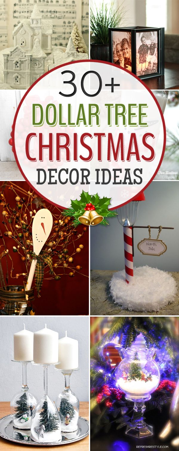 30 Amazing Dollar Tree Christmas Decor Ideas Dollar Tree Christmas Decor Christmas Tree Decorating Tips Dollar Store Christmas
