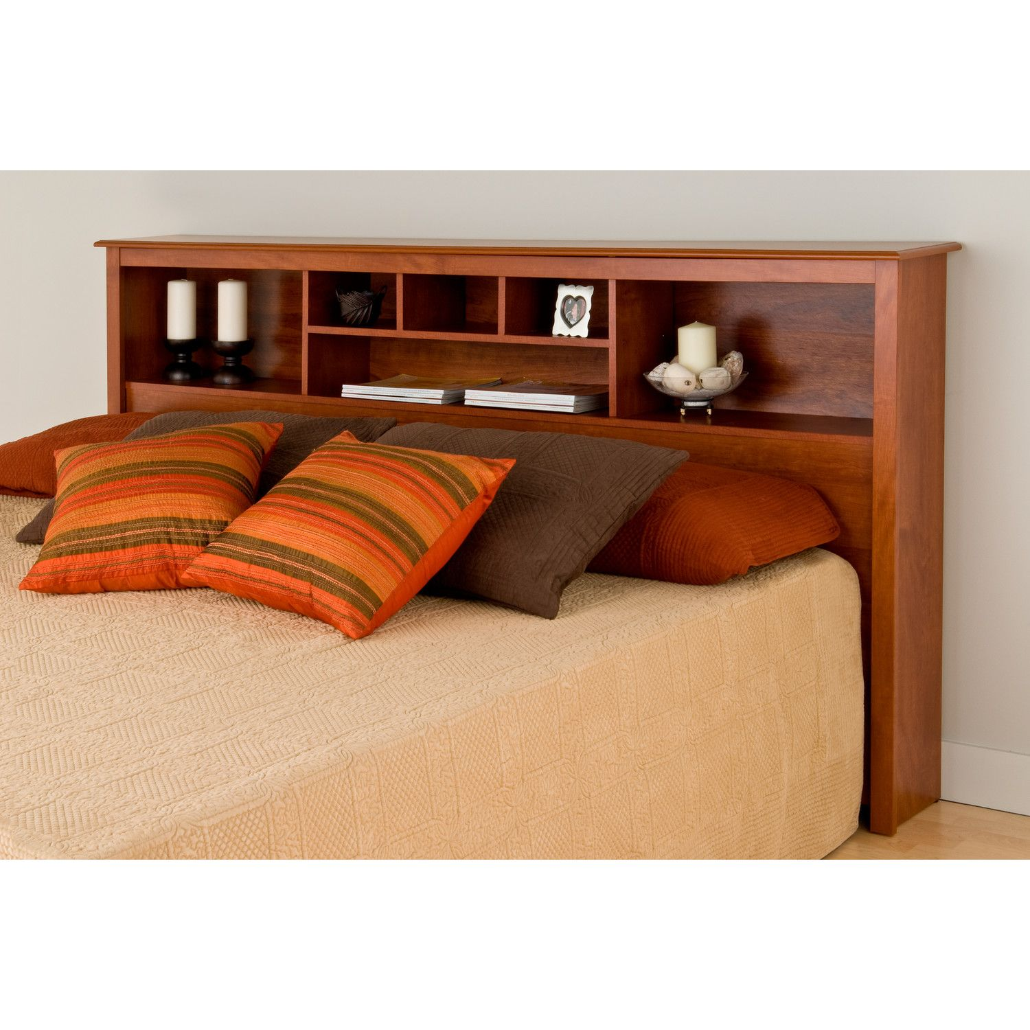 fullqueen hills orchard products bookcase headboard full queen sauder bookcases