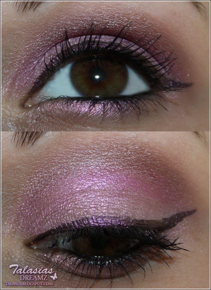 Eye Make Up - Datum: 25.07.2012  http://talasia.blogspot.de/2012/08/amu-swatch-manhattan-flitter-belle.html