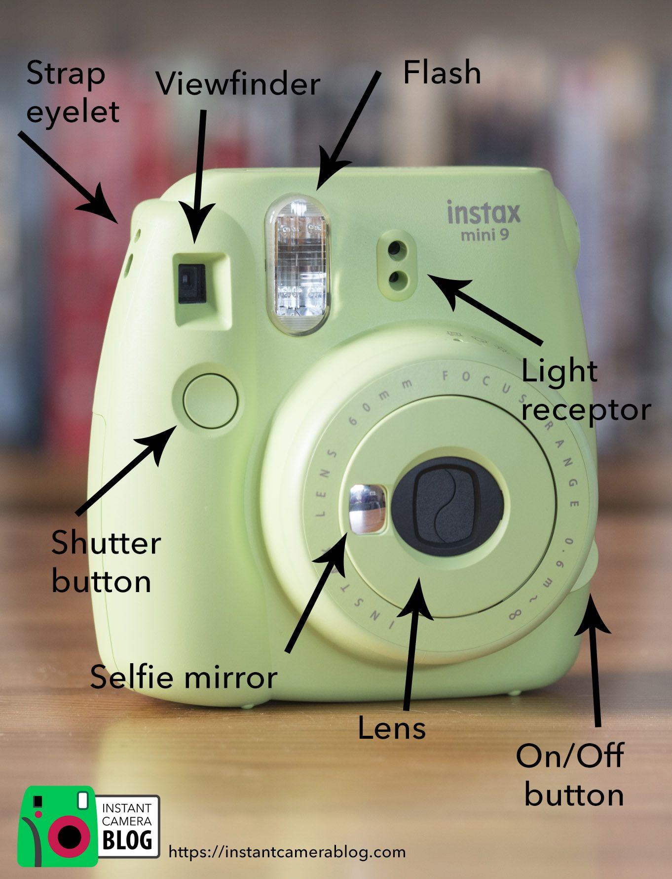 507e75e2e3 Parts of the Fujifilm Instax Mini 9 #instax #instaxmini9 #mini9 ...