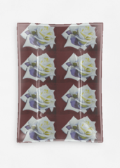 Silk Square Scarf - PEACE ROSE DELIGHT by VIDA VIDA dVkh3HM