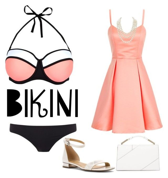"""Bikini Switch"" by martinezmariamm on Polyvore featuring New Look, Paul Smith, MICHAEL Michael Kors, Chanel and Jason Wu"