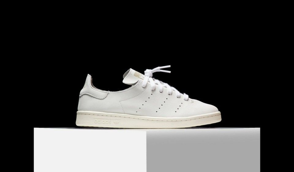new style c6b84 024ad Adidas Originals Stan Smith Leather Sock Sneakers