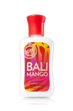 Bali Mango Travel Size Body Lotion Signature Collection Bath