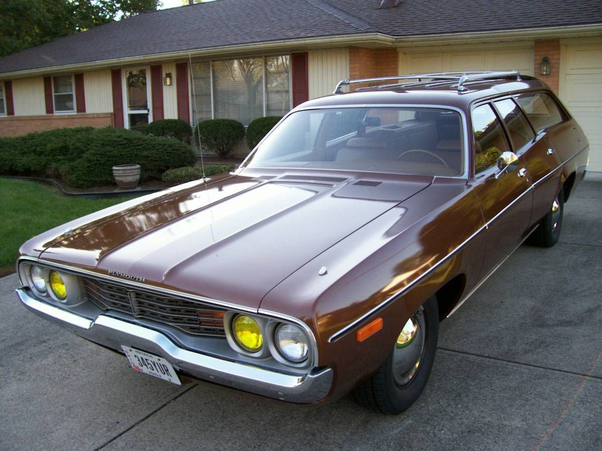 Unrestored Survivor 1972 Plymouth Satellite Station Wagon