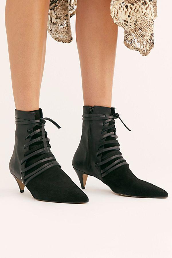 Juliette Heel Boots Boots Heels Kitten Heel Boots
