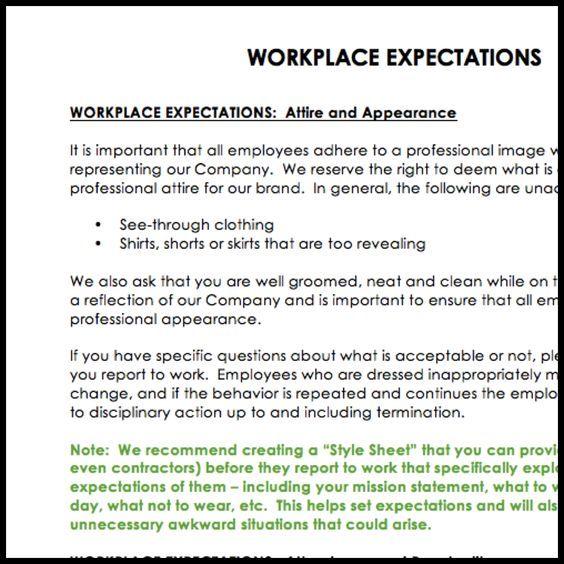 Employee Handbook Template \u2013 Now Available work Pinterest
