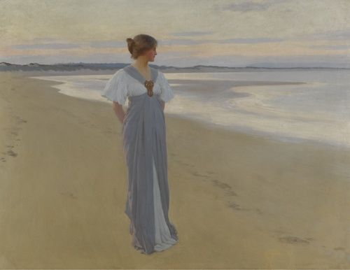 On the Sands - William Henry Margetson 1900