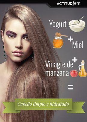Vinagre de manzana para el pelo encrespado