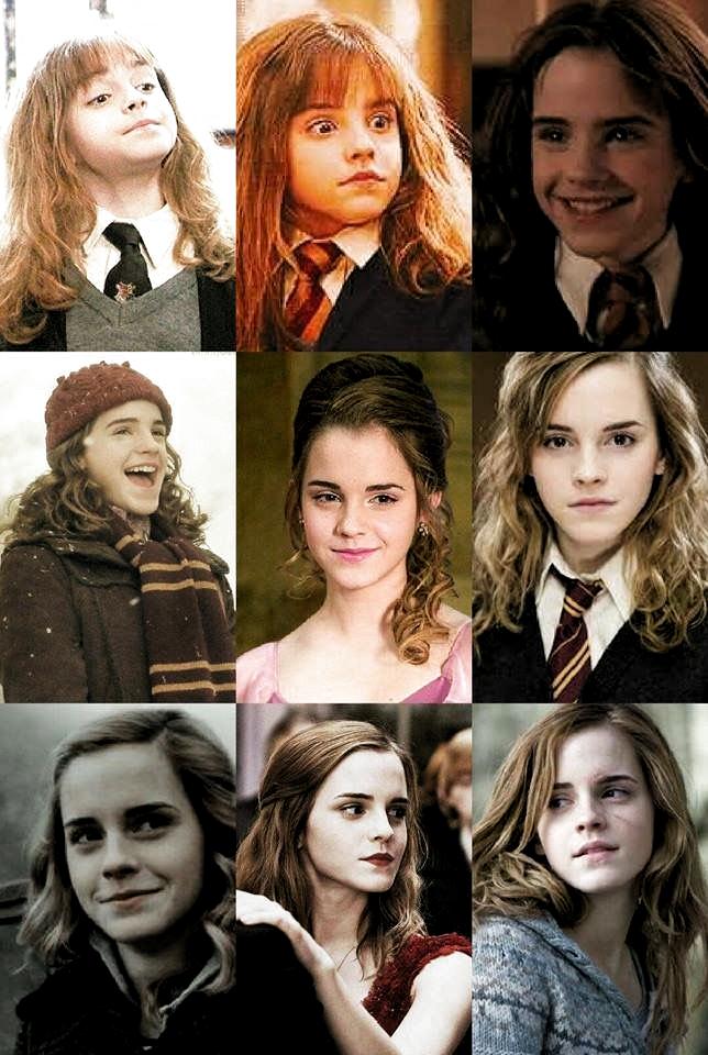 Rose Adli Kullanicinin Emma Watson Panosundaki Pin Harry Potter Cast Hermione Granger Harry Potter Fanlari