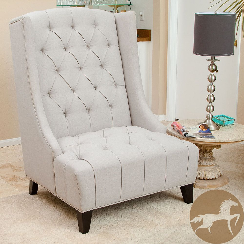 Christopher Knight Home Miles Tall Wingback Accent Chair | This Just Looks  Like A Great Reading