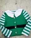 #18 - Santa's Little Helper pattern by Stephanie Mason Free baby sweater on Raverley
