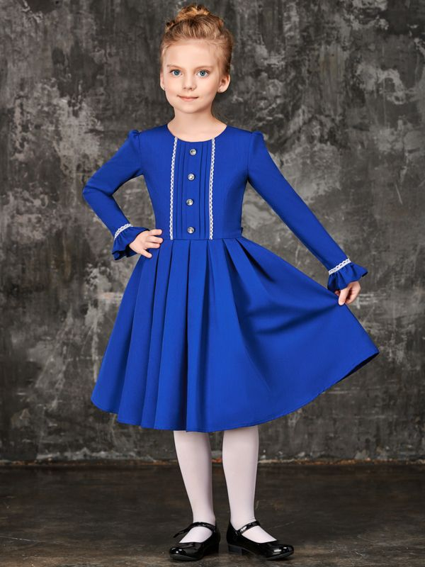 Abiti Eleganti Junior.B6003c Abito Elegante Grigio Per Girls Junior Princess
