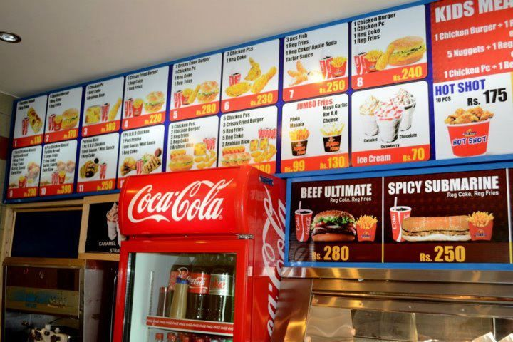 If you are looking for fast food near me online than just