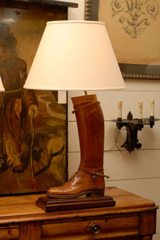Image Result For Riding Boot Lamps Sitting Room Decor Lamp Make A Lamp