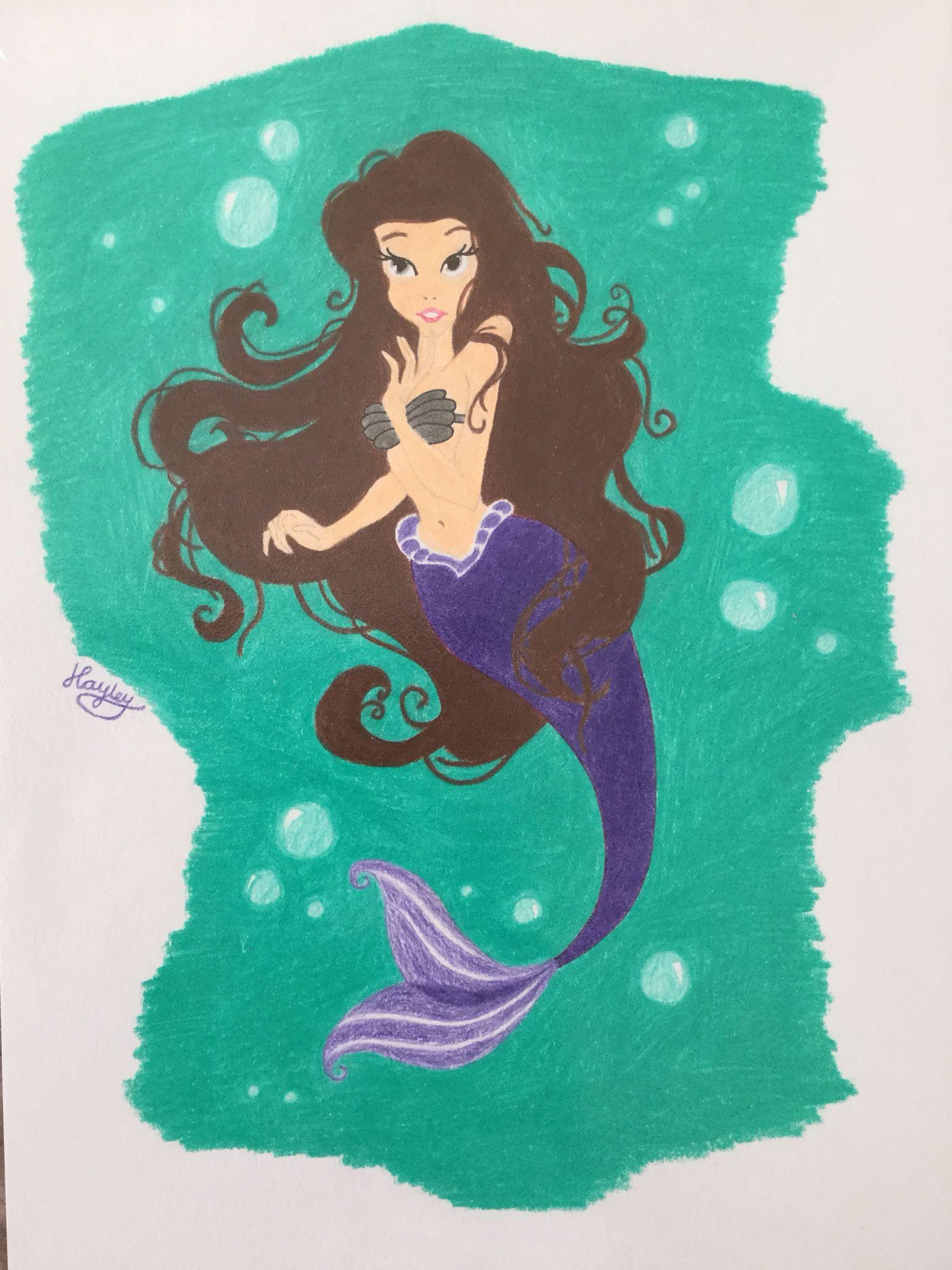 Beautiful mermaid mermaid painting mermaid art mermaid