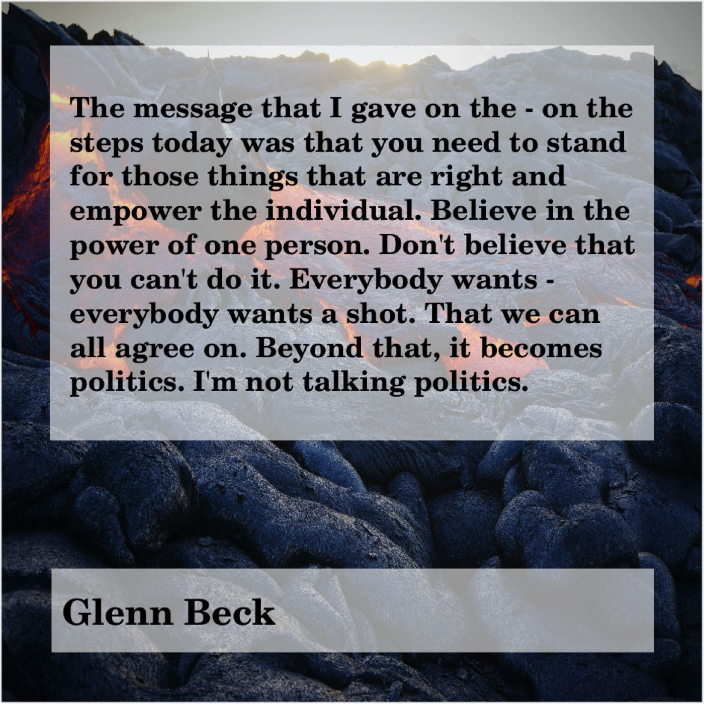 Get More Free Quotes Click The Image Glenn Beck The Message That I Gave Glenn Beck Jeanette Winterson Messages