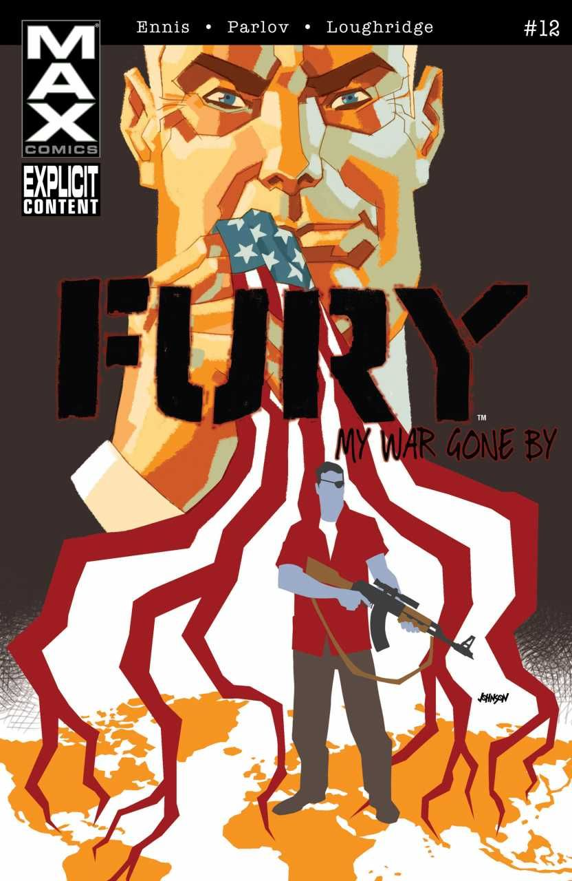 Fury Max # 12 by Dave Johnson