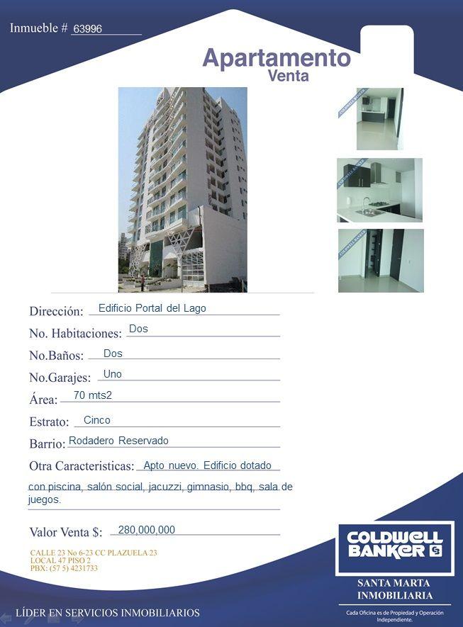 Apartamento en Venta - Rodadero Reservado. #apartamento #santamarta #inmobiliaria #venta