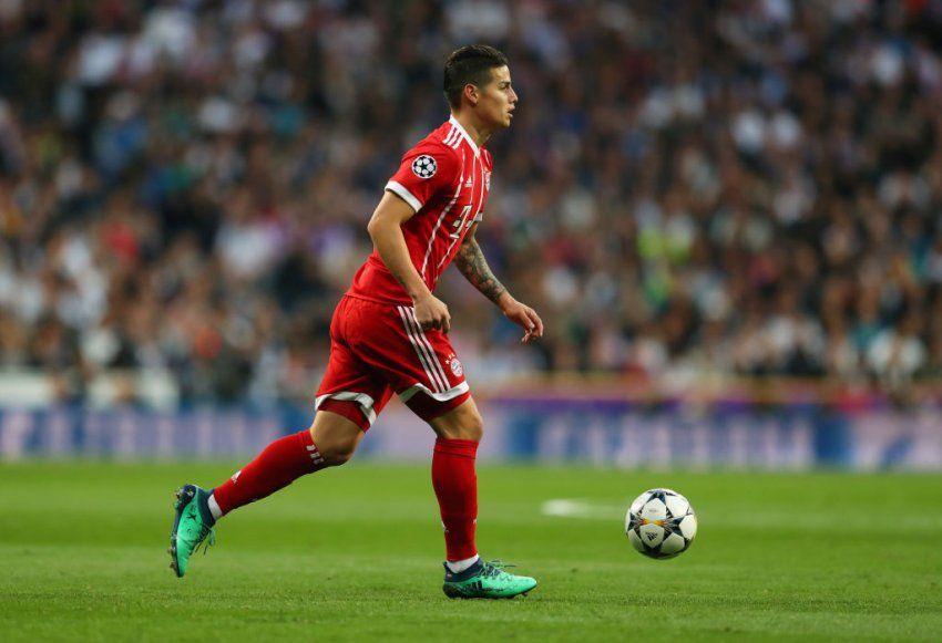Bayerni dëshiron ta transferojë Jamesin për ta shitur