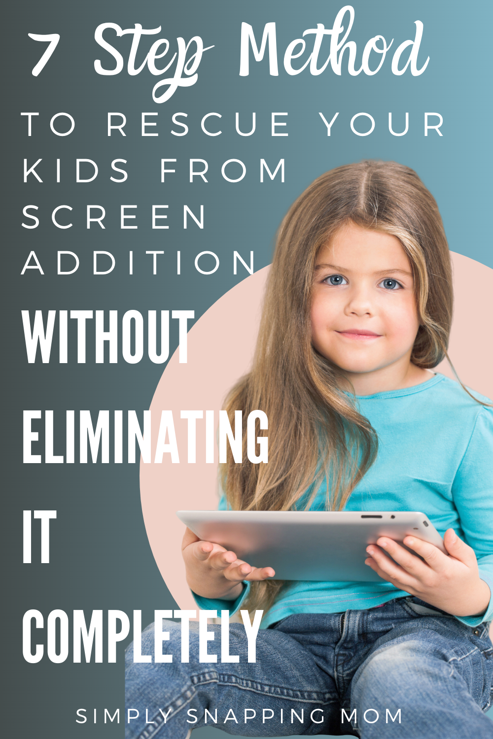 Photo of Rescue your kids from screen addiction with this simple step method. Great for l…