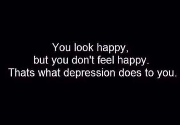 You look happy but....